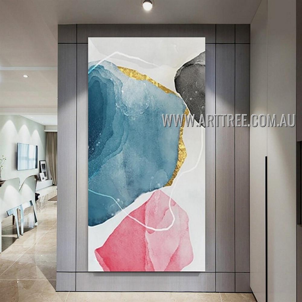 Wandering Seams Abstract Heavy Texture Artist Handmade Modern Art Painting for Room Garniture