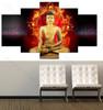Lord Buddha & Fire