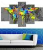 Multicolor Map