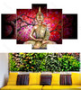 Buddha with Branches Background