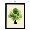 Green Abstract Tree