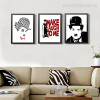 Classic Charlie Chaplin Quotes Figure Prints