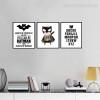 Batman Logo Cartoon Alphabets For Kids Room Decor