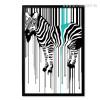 Zebra Animal Stripes Design