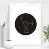 New Constellation Star Map Astronomy Galaxy Kids Room Decor