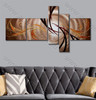 Stripe Design Abstract Canvas Artwork