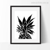 Minimalist Pineapple Nordic Canvas Wall Art