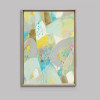 Abstract White Rock Canvas Art