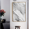 Abstract Grey Marble Wall Art