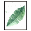 Nordic Watercolor Plant Green Leaf