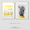 Today is the Day Quote Art