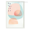 Abstract Multi Pink Princess Design for Nursery