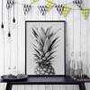 Pineapple Design Canvas Print