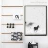 Minimal Horse Animal Print