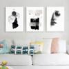 Abstract Beauty Fashion Women Models Canvas Print