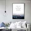 Your Life is a Reflection of Your Thoughts DIY Wall Art