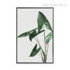 Green Gingko Leaf Wall Art Print