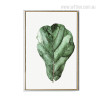 Green Oak Leaf Wall Decor