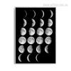 Moon light Phases Art