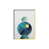 Abstract Planets Wall Art