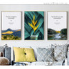 Believe in, Dreams, Play in Mountains Quotes Art Set