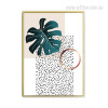 Split Leaf Philodendron Wall Decor