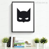 Superhero Batman Mask Kids Wall Art