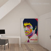 Bruce Lee Kongfu Martial Master Famous Pop Art