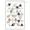Small Geometric Triangles Wall Art