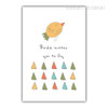 Birdie Invites You to Fly Art for Baby Room Ideas