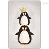 Kawaii Penguin Birds Photo Canvas