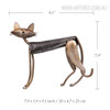 Metal Spring Cat B Size Description