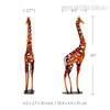 Iron braided Giraffe Animal Metal Sculpture Size Description