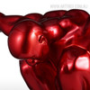 Dark Red Resin Strong Muscular Diving Posture Sculpture (5)