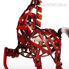 Metal Sculpture Vintage Braided Horse Animal Figurine for Home Decor (4)