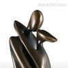 The Kiss Couple Fiberglass Sculpture (5)