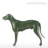 Armor Dog Animal Fiber Glass Sculpture for Home Decor (3)