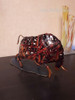 Customer Feedback Iron Braided Brown Cattle Metal Sculpture