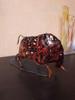 Customer Feedback Iron Braided Brown Cattle Metal Sculpture