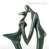 The Kiss Sculpture Fiber Glass Couple Figurine (3)