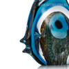 Blue Stripe Tropical Fish Glass Sculpture Aquatic Figurine (3)