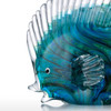 Blue Tropical Fish Glass Miniature Pisces Sculpture (2)