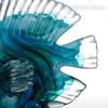 Blue Tropical Fish Glass Miniature Pisces Sculpture (3)