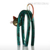 Iron Metal Little Cat Animal Figurine (2)