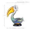 Big Mouth Pelican Bird Glass Sculpture Miniature Size