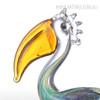 Big Mouth Pelican Bird Glass Sculpture Miniature for Home Decor (4)