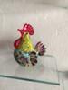 Multicolor Rooster Glass Sculpture Cock Miniature Customer Feedback