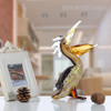 Cormorant Glass Sculpture Bird Statue (5)
