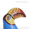 Big Mouth Toucan Bird Fiberglass Resin Sculpture Art (2)