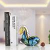 Blue Horse Glass Sculpture Art Animal Miniature (5)